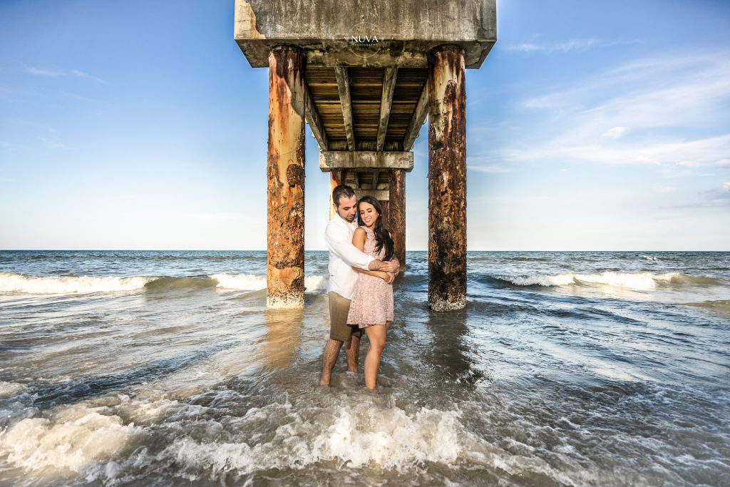 Engagement Session in St  Augustine, FL - Daniela + Andrew - Nuva