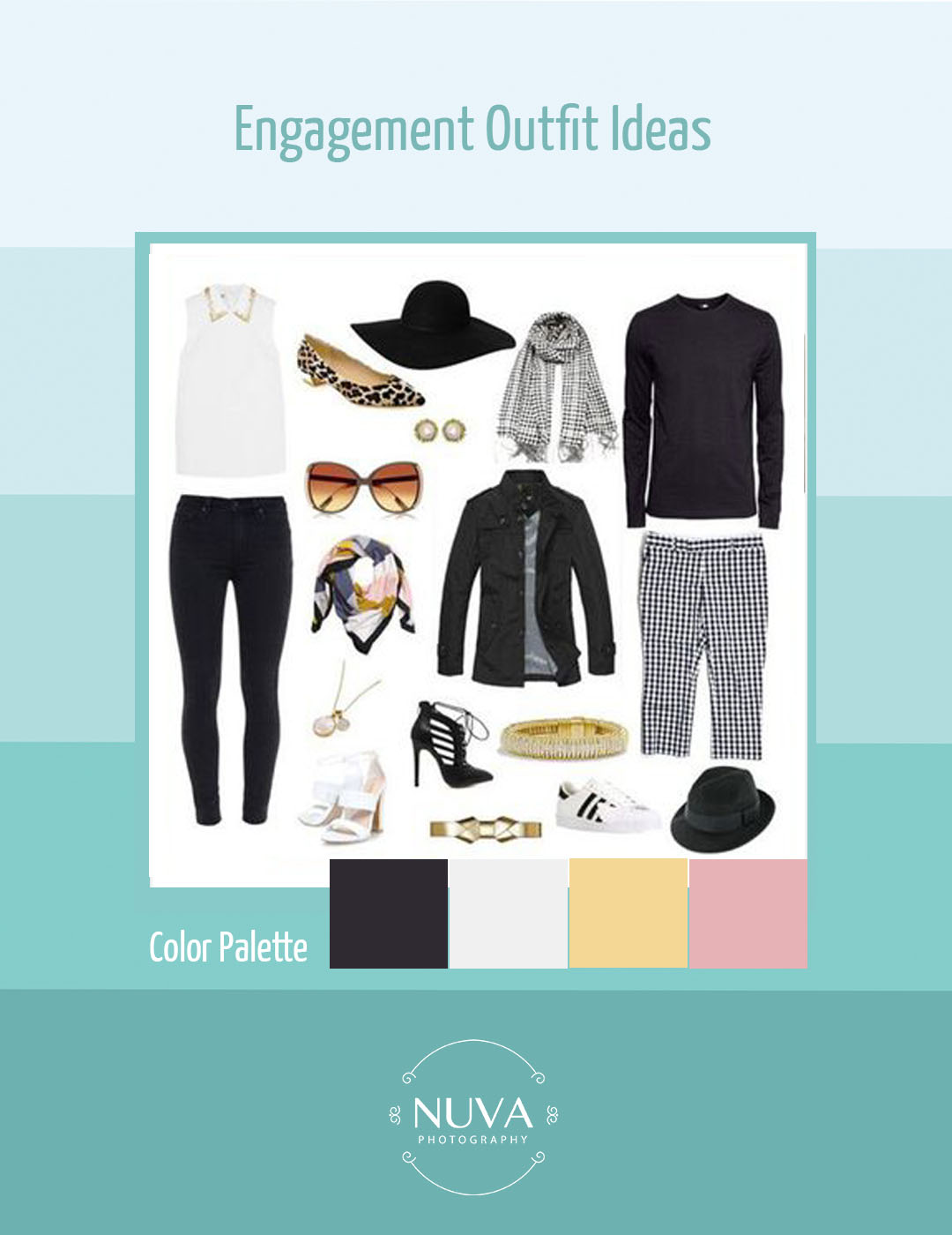Engagement Outfit Ideas by Nuva Photography - Nuva Photography